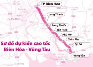 Thủ tướng phê duyệt chủ trương đầu tư dự án cao tốc Biên Hòa - Vũng Tàu